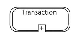 نماد تراکنش در BPMN